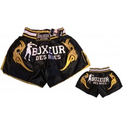 "Short kick ""Boxeur des Rues"" black"