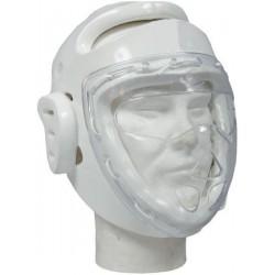 Casque Blanc avec Masque de protection