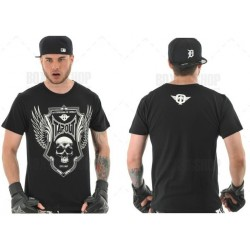 "Tee-Shirt TAPOUT ""Black Shield"" Noir"