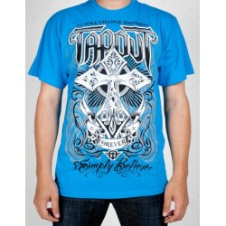 "Tee-Shirt TAPOUT ""Forever"" Bleu"