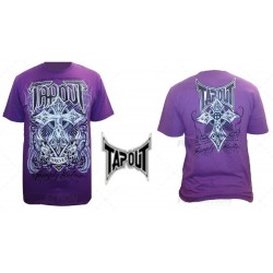 "Tee-Shirt TAPOUT ""Forever"" Violet"
