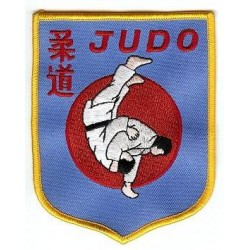 Ecusson JUDO Tradition Bleu