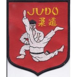Ecusson JUDO Rouge