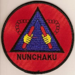 Ecusson Nunchaku