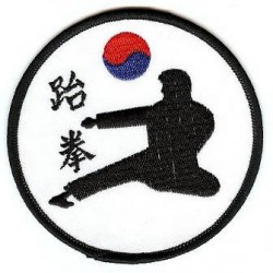 Ecusson TAE KWON DO Corée