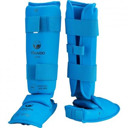Protection tibias et pieds WKF Karaté