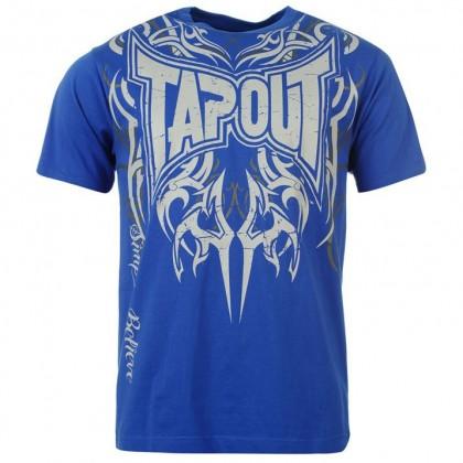 tee shirt Tap Out Bleu Royal