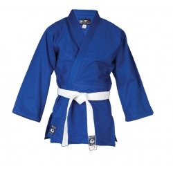 Veste bleue de Judo JuJutsu