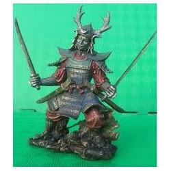 Statuette Guerrier Shogun