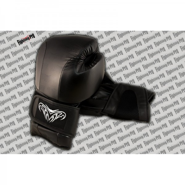 gant de boxe cuir fighting pro division kombat. Black Bedroom Furniture Sets. Home Design Ideas