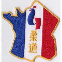 Ecusson Judo France New