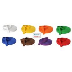 Rouleaux de Ceintures de couleurs JUDO