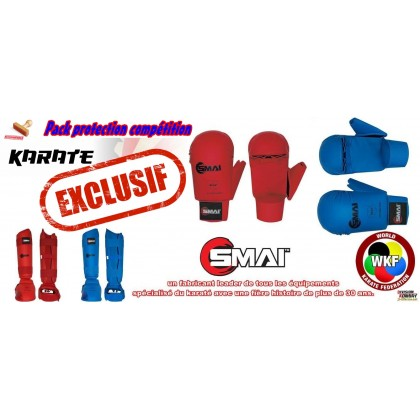 PACK KARATE TOKAIDO HOMOLOGUE FFKDA WKF