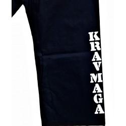 Pantalon Noir marqué KravMaga