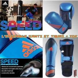 Pack SPEED kickboxing ADIDAS