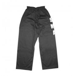 Pantalon noir marqué SMA