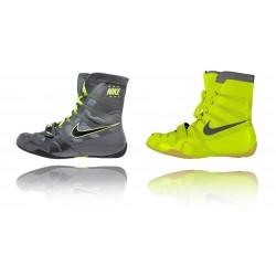 chaussure de boxe HyperKO NIKE grey/volt