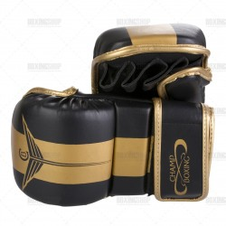 Gants mma champboxing atomic noir/or