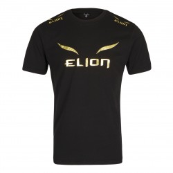 T-shirt elion ring walk noir/or
