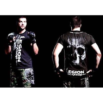 Tee-Shirt MMA Légion Octagon SMILE