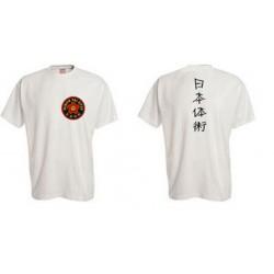 Tee- Shirt Nihon Taï Jitsu Blanc