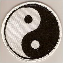 Ecusson Yin Yang