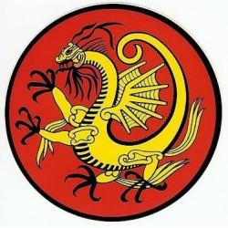 Autocollant Dragon