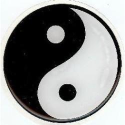 Autocollant Yin Yang