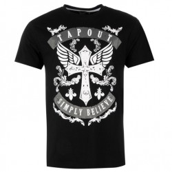 Tee-shirt TAPOUT Crossblack
