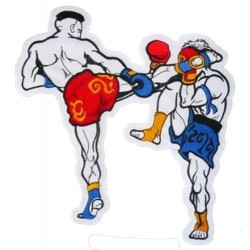 Patch thermocollant THAI BOXING